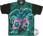 Incredible Hulk Stance Youth Club Shirt