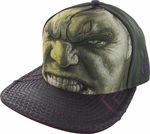 Incredible Hulk Ultron Face Glow 59FIFTY Hat