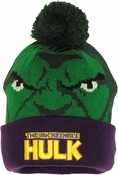Incredible Hulk Woven Head Cuff Beanie