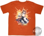 Incredibles Dash vs Syndrome Youth T-Shirt