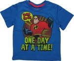 Incredibles Saving Day Caped Juvenile T Shirt