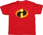 Incredibles Symbol Juvenile T-Shirt