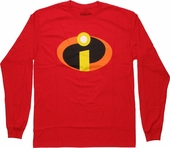 Incredibles Symbol Long Sleeve T Shirt
