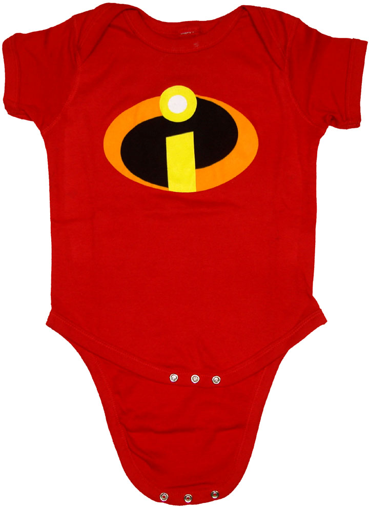 Incredibles Symbol Snap Suit
