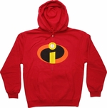 Incredibles Symbol Zip Hoodie