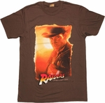 Indiana Jones Raiders Portrait T Shirt Sheer