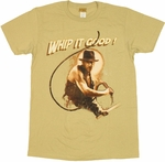 Indiana Jones Whip It T Shirt Sheer