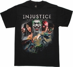 Injustice Gods Among Us Cover Art T Shirt