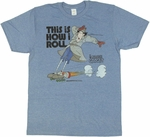 Inspector Gadget Roll T Shirt Sheer