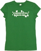 Irish Drunk Girl Baby Tee