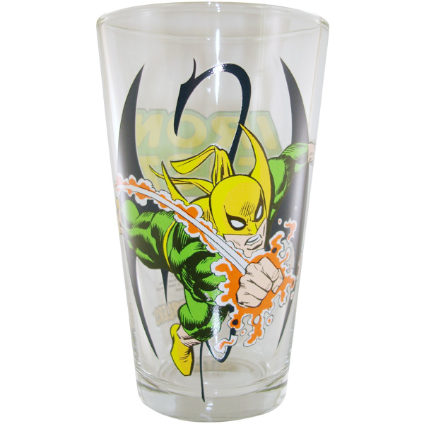 Iron Fist Punch Glass, Toon Tumbler Iron Fist Glass at StylinOnline