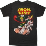 Iron Fist Showdown T Shirt Sheer