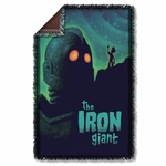Iron Giant Look to the Stars Throw Blanket