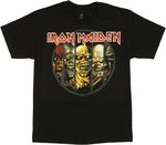 Iron Maiden Eddie Evolution T Shirt
