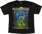 Iron Maiden Somewhere Back in Time T Shirt