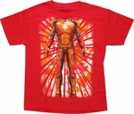 Iron Man 3 Double Sided Suit Youth T Shirt