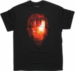 Iron Man 3 Fade Face T Shirt
