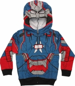Iron Man 3 Iron Patriot Toddler Hoodie