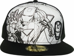 Iron Man 59Fifty Hat