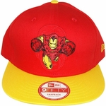 Iron Man Action Logo Hat