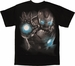 Iron Man Age of Ultron Glow Darkness T-Shirt