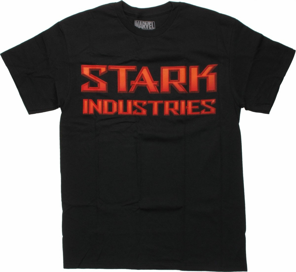 Iron Man Bevel Stark T-Shirt