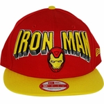 Iron Man Block Name Hat