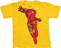Iron Man Body Toddler T Shirt