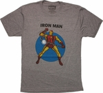 Iron Man Chain Break T Shirt Sheer