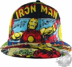 Iron Man Comic Hat