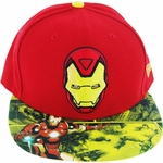 Iron Man Comic Visor 59Fifty Hat