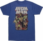 Iron Man Crash and Burn T-Shirt Sheer