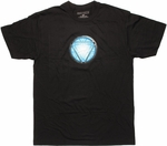 Iron Man Detailed Blue Core T Shirt