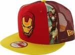 Iron Man Dye Slice Mesh 9FIFTY Hat