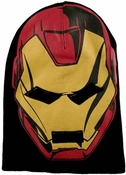 Iron Man Face Beanie