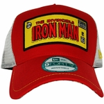 Iron Man Framed Logo Mesh Hat
