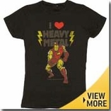 Iron Man Girls Shirt