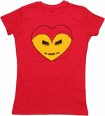 Iron Man Heart Baby Tee