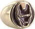 Iron Man Helmet Signet Ring