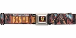 Iron Man Invincible Action Pose Seatbelt Belt