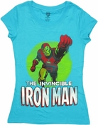 Iron Man Invincible Baby Tee