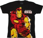 Iron Man Invincible Big T Shirt Sheer