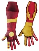 Iron Man Mark 42 Deluxe Adult Costume Gloves