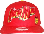 Iron Man Name Hat