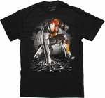 Iron Man Punch Ground T Shirt
