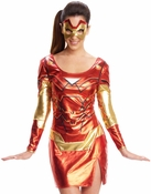 Iron Man Rescue Shiny Dress Costume