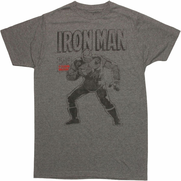 Iron Man Return Original T Shirt Sheer