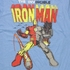 Iron Man Split Suit T Shirt Sheer