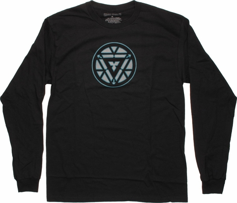 Iron Man Subtle Core Long Sleeve T Shirt