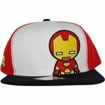 Iron Man Toy Tricolor Hat